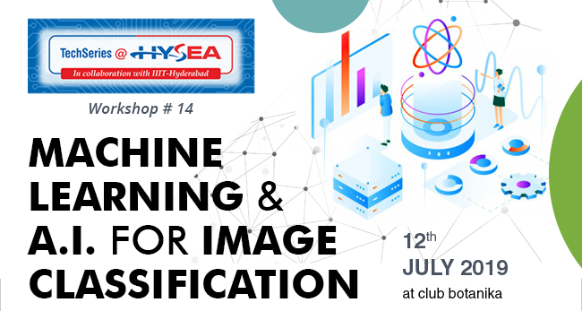MACHINE LEARNING & A.I. FOR IMAGE CLASSIFICATION - 12th JULY 2019 -  at club botanika